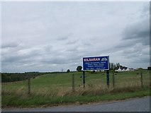N2721 : Sign at the entrance to Kilsaran's Bunaterin Quarry by Eric Jones
