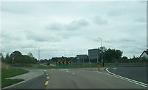N3222 : Ballard Roundabout on the N52 south-west of Tullamore by Eric Jones