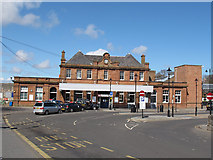 NT9953 : Berwick-on-Tweed railway station by Stephen Craven