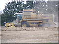TM0783 : New Holland TX68 Combine Harvester by Adrian Cable