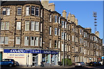 NT2774 : Corner of Cambusnethan Street & Dalziel Place, Edinburgh by Leslie Barrie