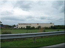N3524 : The warehouse of Smith Brothers (Tullamore) Limited by Eric Jones