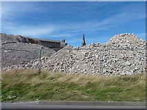 NO4030 : Remains of a council building by James Allan