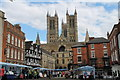 SK9771 : Lincoln Cathedral from Castle Square by Alice Batt