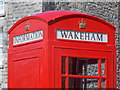SY6971 : Easton: close-up of the Wakeham information kiosk by Chris Downer