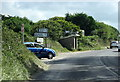 SW7754 : Bus Shelter at Rose Crossroads on B3285 in Cornwall by Roy Hughes