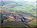 NS4312 : Disused opencast mine at Polnessan by M J Richardson
