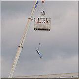J3474 : River Lagan rescue training, Belfast (2) by Albert Bridge