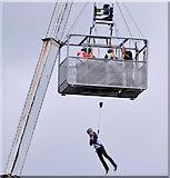 J3474 : River Lagan rescue training, Belfast (3) by Albert Bridge