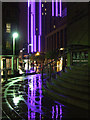 NS5965 : Sauchiehall Street at night by Thomas Nugent