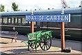 NH9418 : Platform at Boat of Garten station by Jim Barton