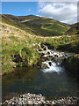 SD6496 : Long Rigg Beck and Long Rigg by Karl and Ali