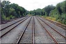 SP5820 : Holding sidings in MOD Bicester by Steve Daniels