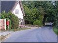 TM0981 : Banyard's Lane & Hall Lane Postbox by Adrian Cable