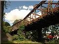 ST6074 : Disused railway bridge, Stapleton Road by Derek Harper