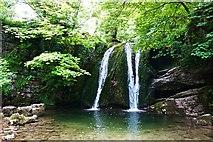 SD9163 : Janets Foss Waterfall, Malham by Paul Buckingham