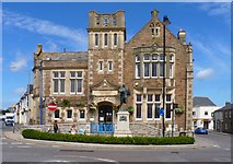 SW6439 : Camborne Library by Mike Smith