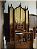 ST3505 : Forde Abbey Chapel: organ by Basher Eyre