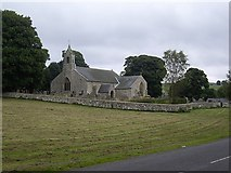 NY9393 : St Cuthbert's, Elsdon by Stanley Howe