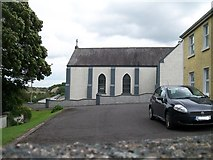 """N0429 : Clonfinlough Chapel from the """"Carved Stone"""" path by Eric Jones"""