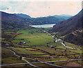 SH6553 : View of the Afon Glaslyn valley and Llyn Gwynant by David Leeming