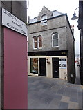 HU4741 : Lerwick: Quendale Lane emerges onto Commercial Street by Chris Downer