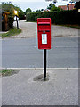 TM1383 : Crown Green Postbox by Adrian Cable