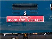 SK9135 : Royal Highland Fusilier by David Dixon