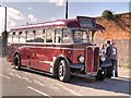 SK9135 : Vintage Bus Service, Grantham Festival of Speed by David Dixon