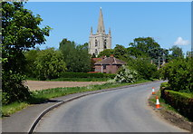 TF5617 : All Saints Church in Tilney All Saints by Mat Fascione