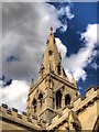 SK7953 : St Mary's Church Spire by David Dixon
