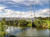 SK7954 : Newark-on-Trent, Jubilee Bridge by David Dixon