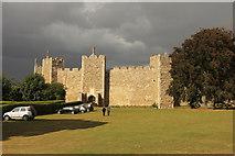 TM2863 : Framlingham Castle by Richard Croft