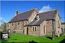 NZ1720 : Church of St. John the Evangelist at Ingleton by David Martin