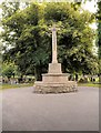 SK8052 : Newark-on-Trent Cemetery, Cross of Sacrifice by David Dixon