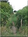 TM2676 : Footbridge by Keith Evans