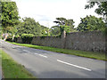 SK5712 : Rothley Court boundary wall by Alan Murray-Rust