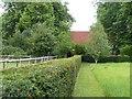 SU8403 : Apuldram - Path to St Mary's by Rob Farrow