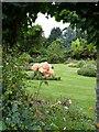 SU8403 : Rymans - view across garden by Rob Farrow