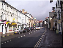 SO3014 : Cross Street, Abergavenny by Martin Speck