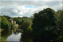 SE0063 : Houses on the River Wharfe by Peter Barr