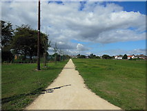 TA0832 : The former Endike Primary School playing fields by Ian S