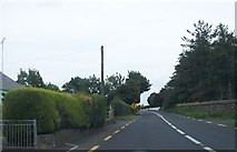 N7274 : The N52 at the northern end of the linear village of Lackmelch, Meath by Eric Jones