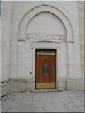SP5206 : Oxford Centre for Islamic Studies, door to mosque by David Hawgood