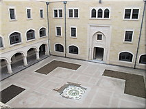 SP5206 : Oxford Centre for Islamic Studies, Fellows Quad  by David Hawgood