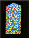 SP5206 : Oxford Centre for Islamic Studies, stained glass in mosque by David Hawgood