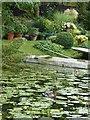 SU8300 : Mallard and House Boat gardens by Rob Farrow