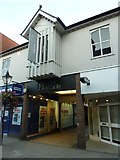 SY6990 : Tudor Arcade, Dorchester town centre by Basher Eyre
