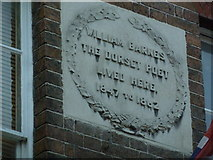 SY6990 : William Barnes plaque, 40 South Street by Basher Eyre