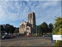 SX9193 : St David's church, Exeter by David Smith